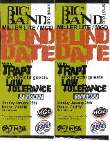 photo of tickets to MGD Blind Date with Trapt